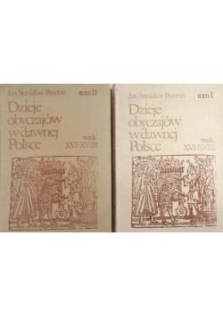 Dzieje obyczajów w dawnej Polsce, Tom I,II