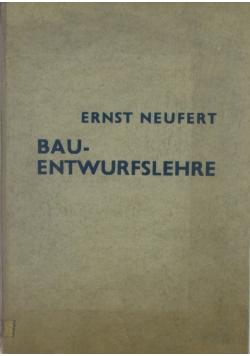 Bauentwurfslehre - 1943r.