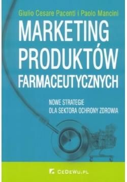 Marketing produktów farmaceutycznych.