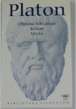 Obrona Sokratesa, Kriton, Uczta