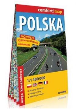 Comfort!map Polska 1:1 400 000 midi mapa
