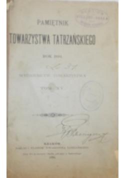 Pamiętnik towarzystwa tatrzańskiego, 1902 r.