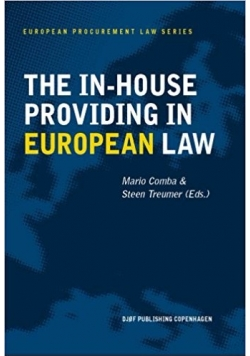 The in- house providing in european law
