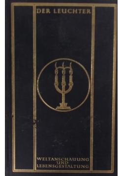 Der Leuchter weltanschauung und lebensgestaltung, 1923 r.