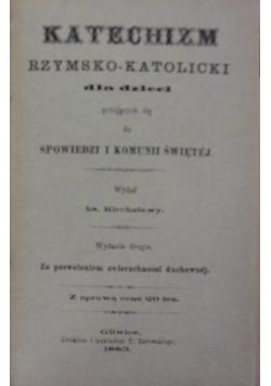 Katechizm Rzymsko-Katolicki dla dzieci, 1883 r.