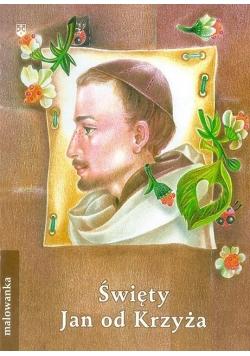 Malowanka - Święty Jan od Krzyża