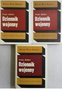 Halder Franz - Dziennik wojenny, tom I-III, BWW