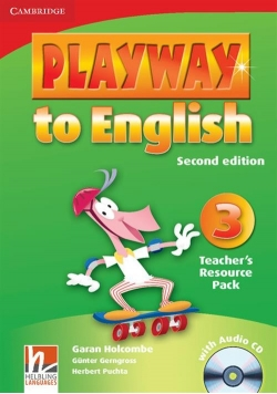 Playway to English 3 Teacher's Resource with CD