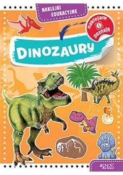 Naklejki edukacyjne. Dinozaury