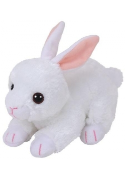 Beanie Babies Cotton - Biały Królik 15cm