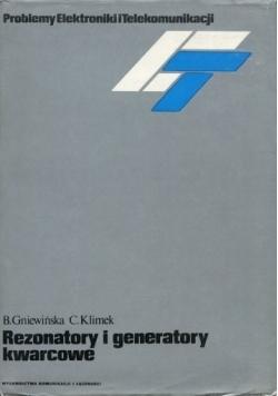 Rezonatory i generatory kwarcowe