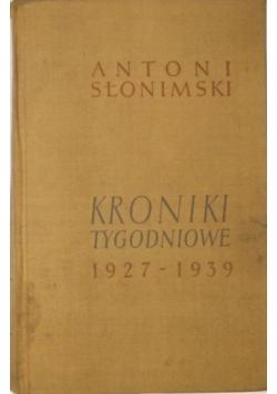 Kroniki tygodniowe 1927-1939
