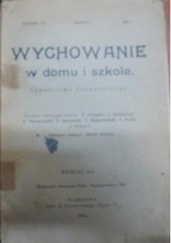 Wychowanie w domu i szkole, 1914r.