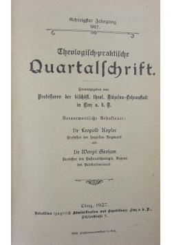 Theologisch-praktische Quartalschrift, 1927r.