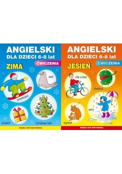 Pakiet: Angielski Dla Dzieci 6-8 Lat. Jesień/Zima