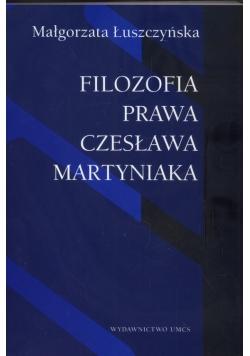 Filozofia prawa Czesława Martyniaka