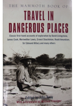 Travel in dangerous places