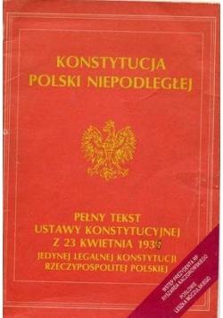 Konstytucja Polski Niepodległej