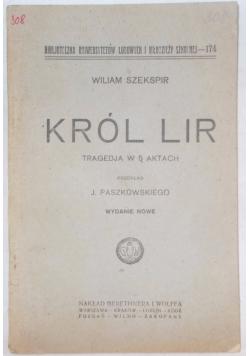 Król Lir, 1925 r.