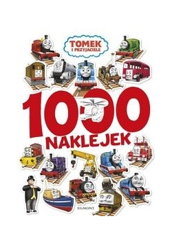 Tomek i przyjaciele 1000 naklejek