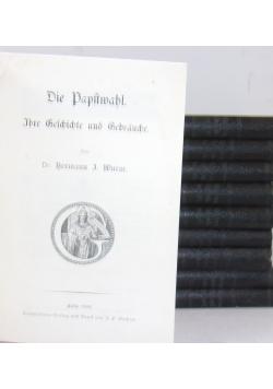 Ihre Geschichte und gebrauche, zestaw 9 książek, 1902 r.