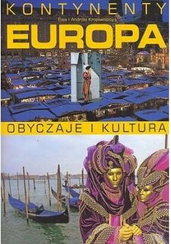 Europa- obyczaje i kultura. NOWA