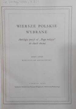 Wiersze Polskie Wybrane, 1946 r.