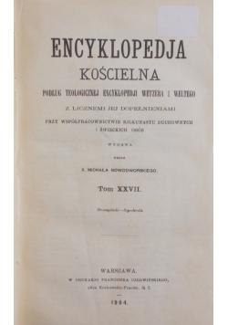 Encyklopedia Kościelna Tom XXVIII, 1905 r.