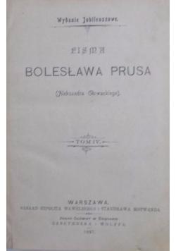 Pisma Bolesława Prusa , 1897 r.