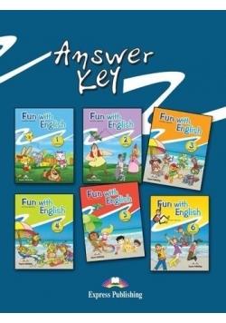 Fun with English 1-6 key Express Publishing