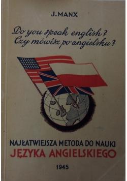 Najłatwiejsza Metoda Nauki Języka Angielskiego, 1945 r.