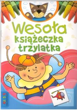 Wesoła książeczka trzylatka LITERKA