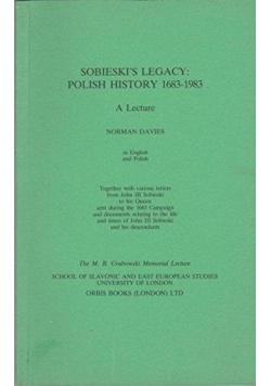 Sobieski's legacy Polish history