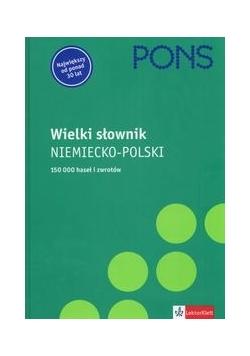Pons Wielki słownik niemiecko - polski