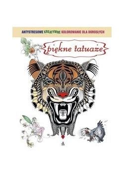 Piękne tatuaże Antystresowe kreatywne kolorowanie dla dorosłych