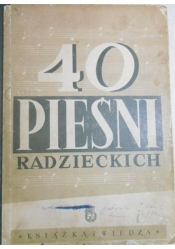 40 pieśni radzieckich, 1950 r.