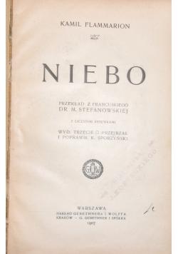 Niebo, 1907r