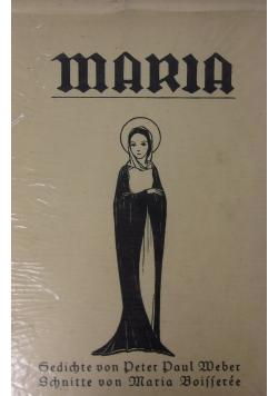Maria - Gedichte von Peter Paul Weber Schnitte von Maria Boisseree