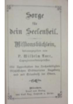 Sorge fur dein seelenheil, 1893 r.