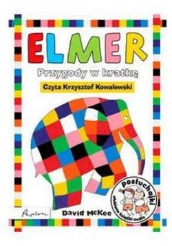 Posłuchajki. Elmer Przygody w kratkę Cd mp3