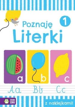 Akademia przedszkolaka Poznaję literki Zeszyt 1