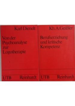 Von der Psychoanalyse zur Logotherapie/Berufserziehung und kritische Kompetenz