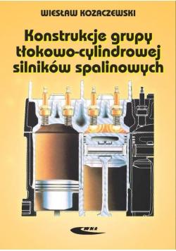 Konstrukcja grupy tłokowo-cylindr. silników spal.