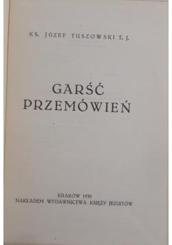 Garść przemów, 1930 r.