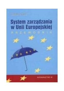 System zarządzania w Unii Europejskiej