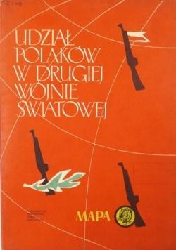 Udział Polaków w drugiej wojnie światowej,mapa