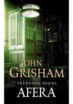 Theodore Boone: Afera,nowa