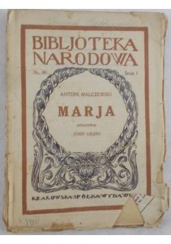 Marja,1925 r.