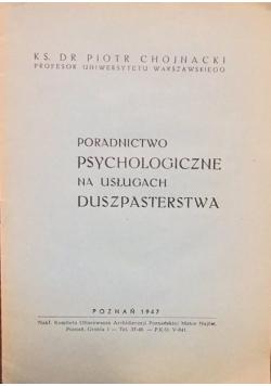 Poradnictwo psychologiczne na usługach duszpasterstwa, 1947 r.