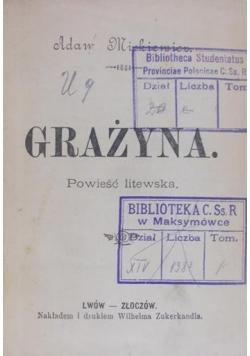 Grażyna/Barbara Radziwiłłówna/Powrót posła/Hamlet